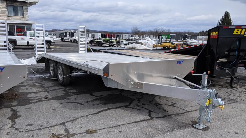 2021 EBY 20' 10K Deckover Equipment Trailer