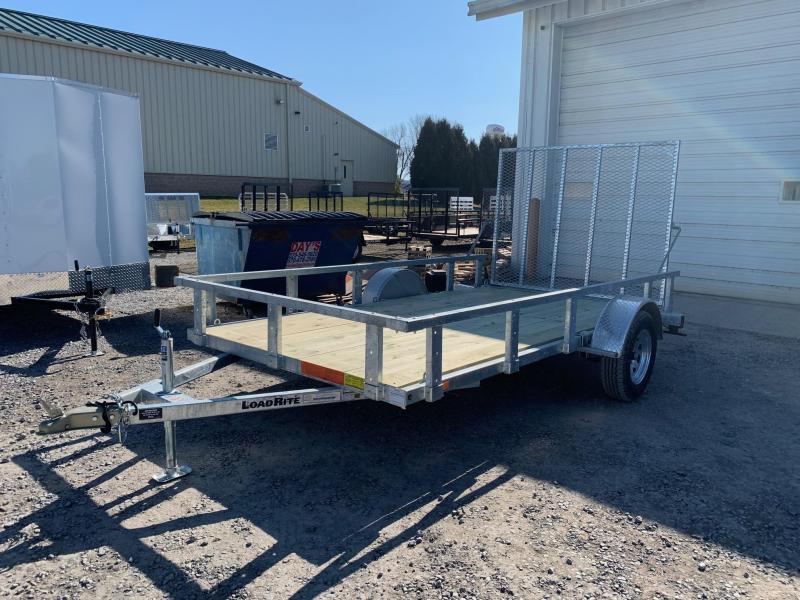 2020 Load Rite 6.5x12 3K Galvanized Utility Trailer