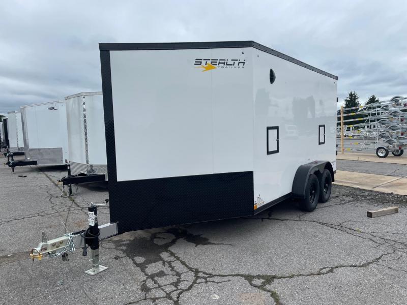 2022 Stealth Trailers 7x14 7K Snowmobile Trailer