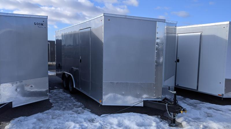 2021 Look Trailers 8.5x18 Car / Racing Trailer