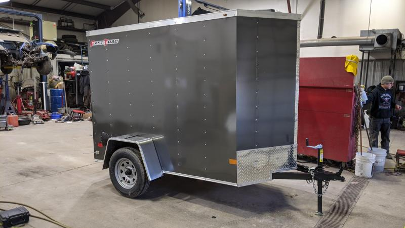 2021 Wells Cargo 5x8 Enclosed Cargo Trailer
