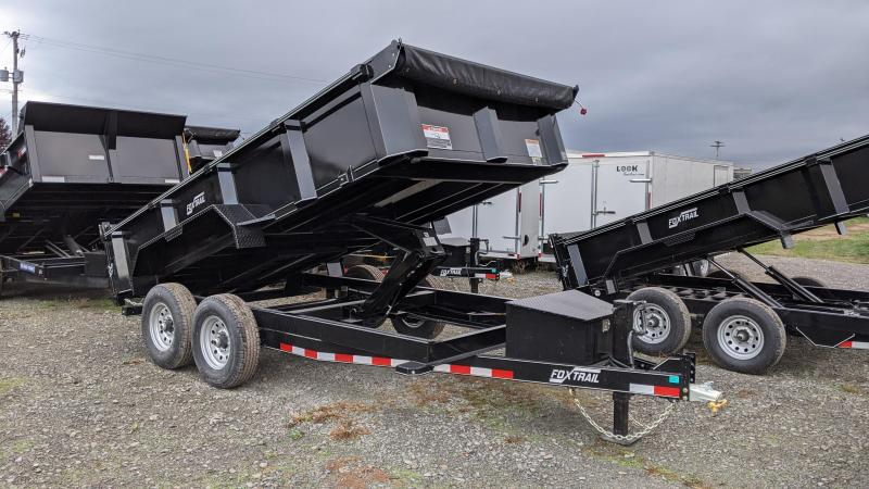 2021 Fox Trail 7x14 Dump Trailer