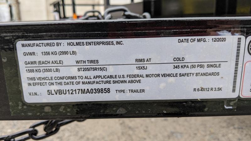 2021 Holmes 6-4x12 Res Utility Trailer