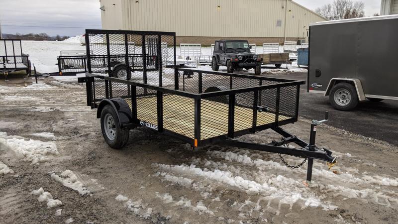 2021 Holmes 6x10 mesh side Utility Trailer