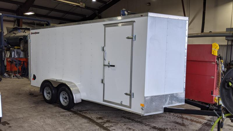 2021 Wells Cargo 7x16 Enclosed Cargo Trailer