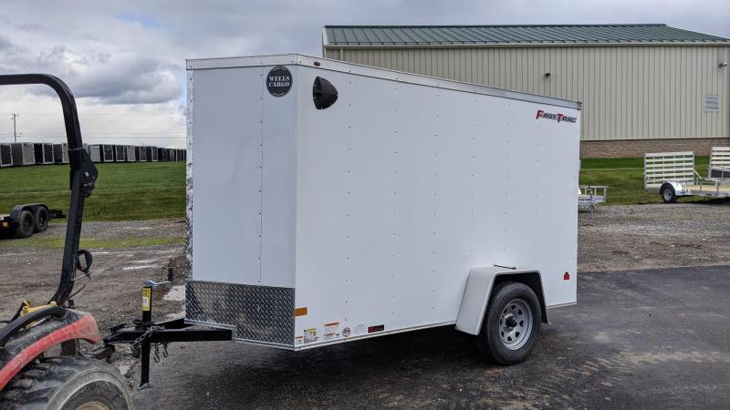 2021 Wells Cargo 5x10 Enclosed Cargo Trailer