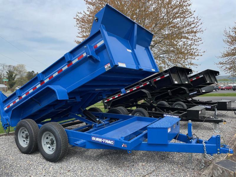 2021 Sure-Trac 7x12 12K Lo Pro Dump Trailer
