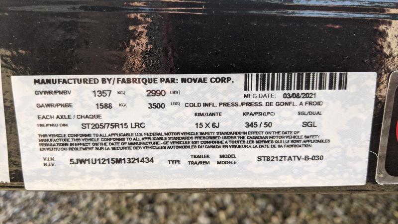 2021 Sure-Trac 7x12 ATV Trailer