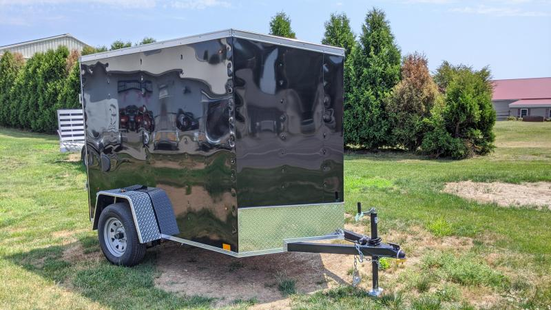 2021 Look Trailers ST-DLX 5x8 3K Enclosed Cargo Trailer