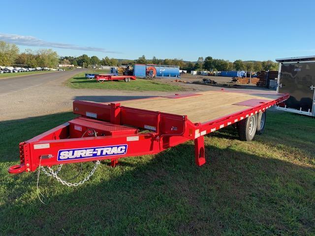 2020 Sure-Trac 8.5x 22 Deckover Tilt Flatbed Trailer
