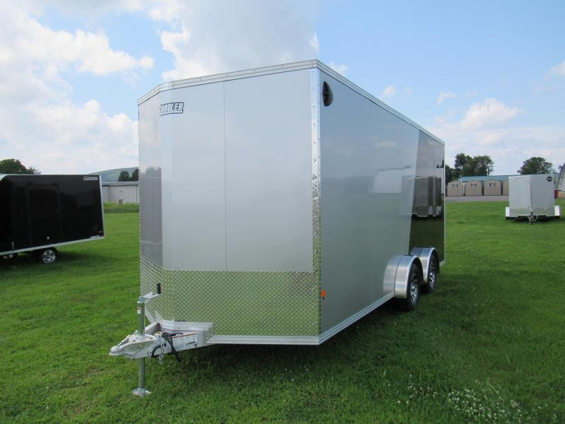2020 Mission EZ Hauler 7.5x18 UTV (Limited Model) Enclosed Cargo Trailer