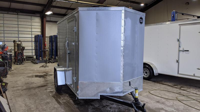 2021 Wells Cargo 6x10 3K Enclosed Cargo Trailer