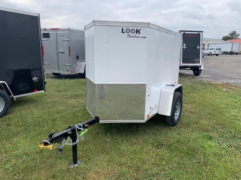 2021 Look Trailers Element SE 4x6 3K Enclosed Cargo Trailer