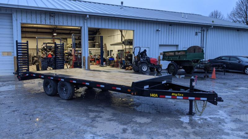 2021 Big Tex Trailers 17+3 14K Deckover Flatbed Trailer