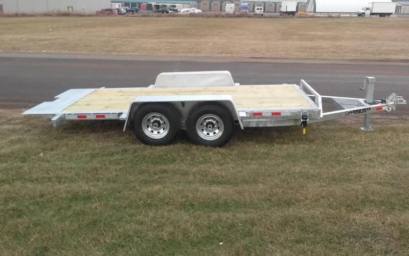 2018 Load Rite 16' 14K Tilt Deck Equipment Trailer