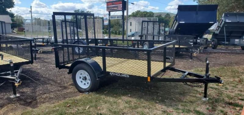 2021 Holmes Residentail 5x8 Mesh Side 3.5K Utility Trailer