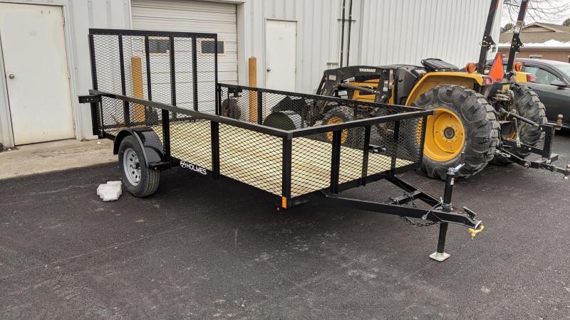 2021 Holmes 6x12 mesh side Utility Trailer
