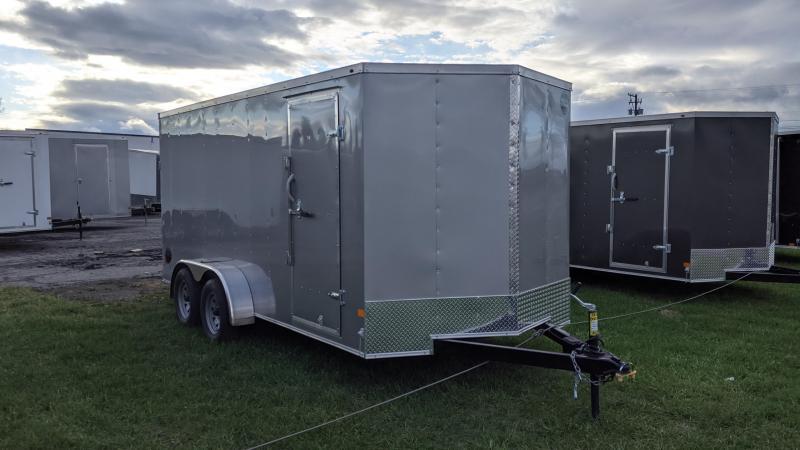 2021 Wells Cargo 7x16 Enclosed Cargo Trailer