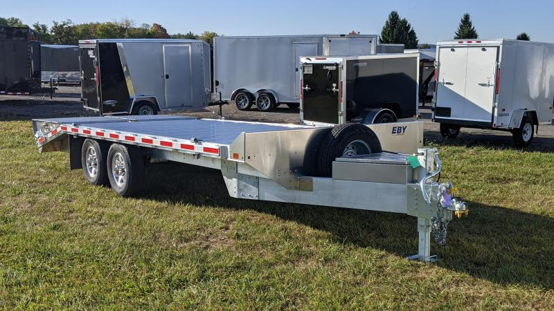 2021 EBY 20 deckover Equipment Trailer