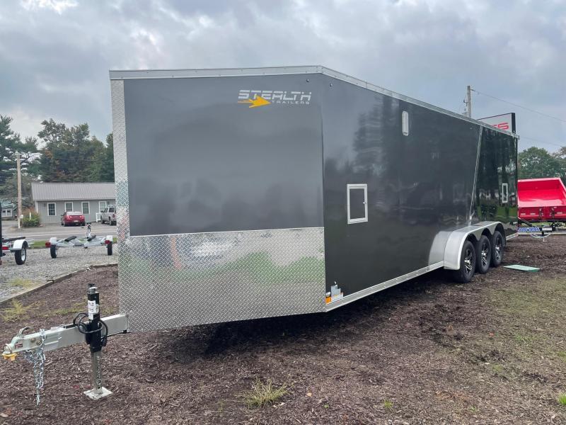 2022 Stealth Trailers 7x26+V Snowmobile Trailer