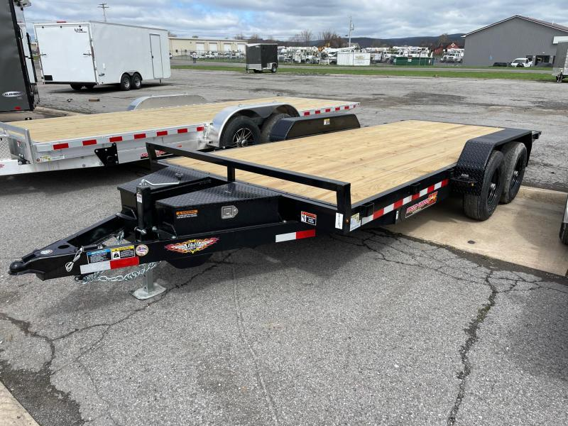 2021 H and H Trailer 18' 10K Power Tilt Car / Racing Trailer