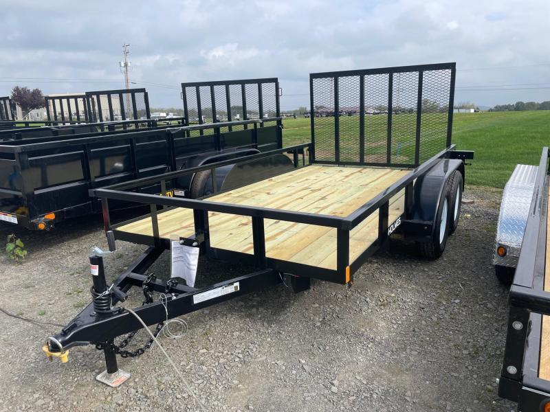 2022 Holmes 6'4x12 7K Landscape Utility Trailer