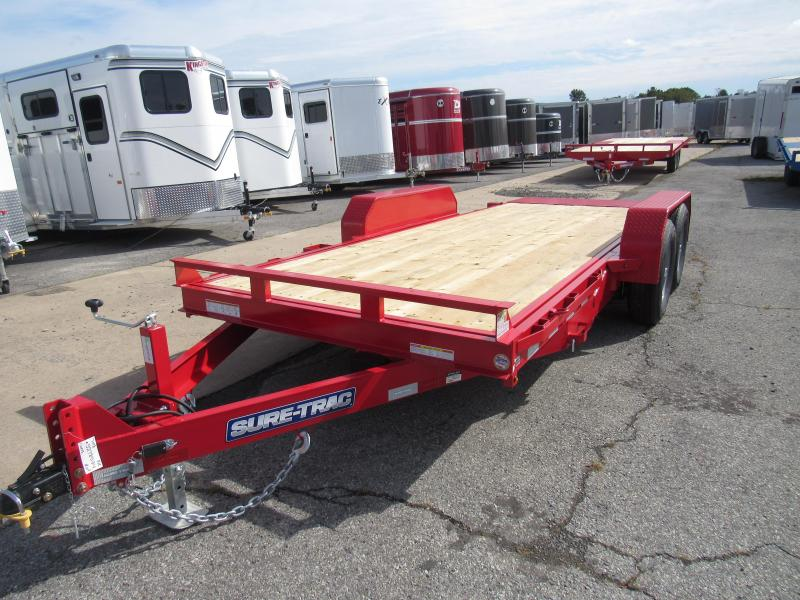 2020 Sure-Trac 7x18 14K Tilt Bed Equipment Trailer