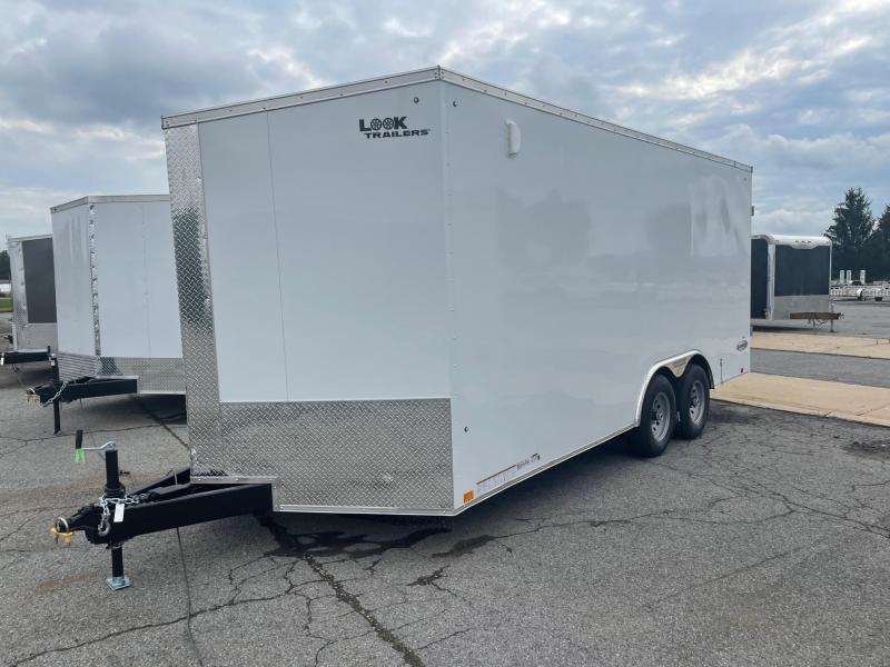 2022 Look Trailers 8.5x18 10K Car Hauler Enclosed Cargo Trailer