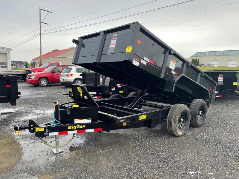 2022 Big Tex Trailers 6x12 10K Dump Trailer