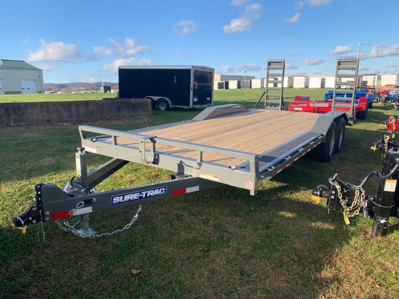 2020 Sure-Trac 8.5x20 14K Full Width Equipment Trailer