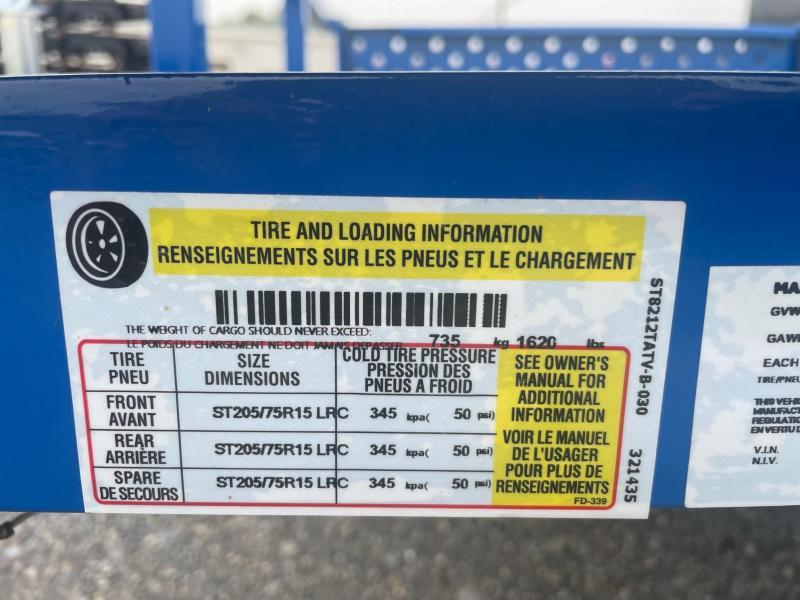 2022 Sure-Trac 6'10x12 3K Utility Trailer
