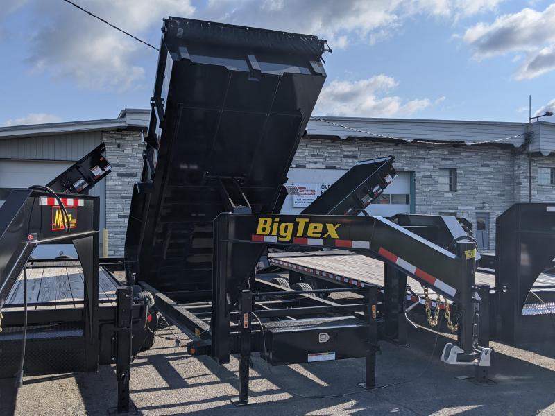2021 Big Tex Trailers 7x16 Gooseneck Dump Trailer