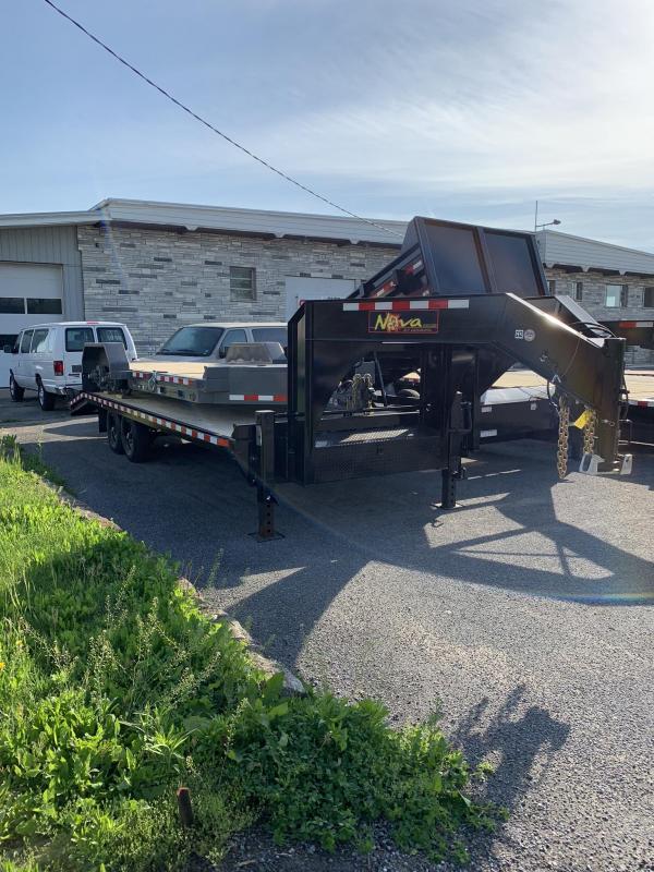 2019 Midsota 8-5x19+5 Nova Goose-neck Deckover 14K