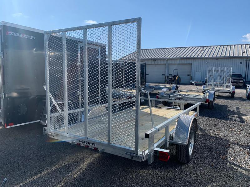 2021 Load Rite 5.5x11 3K Galvanized Utility Trailer