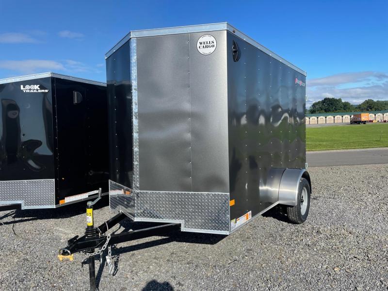 2022 Wells Cargo 6x10 3K Enclosed Cargo Trailer