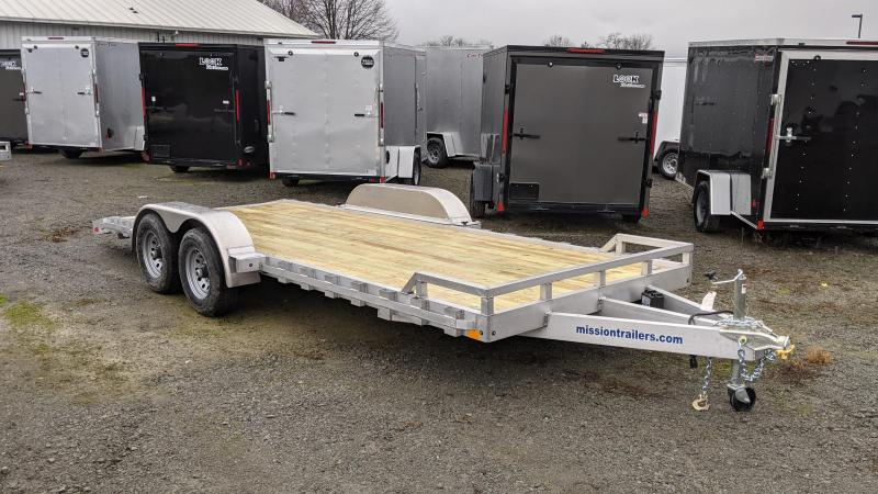 2021 Mission 20' Car / Racing Trailer