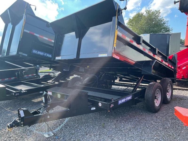 2022 Sure-Trac 7x12 12K Dump Trailer