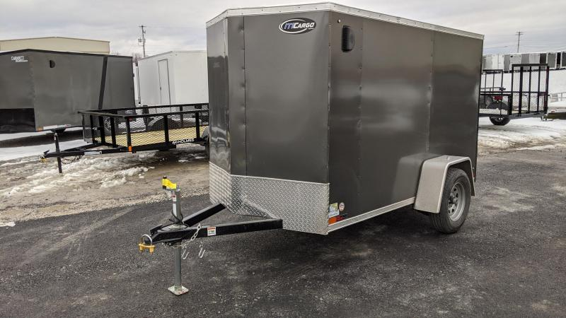 2021 ITI Cargo 5x10 3K Enclosed Cargo Trailer