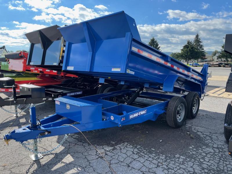2021 Sure-Trac 6x12 10K Dump Trailer