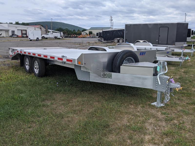 2021 EBY 20' 14K Deck Over Equipment Trailer
