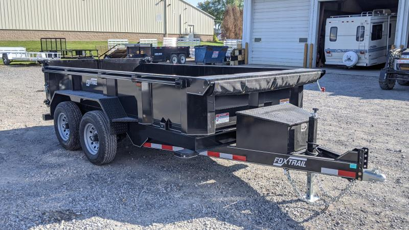 2021 Fox Trail 6x12 Dump Trailer