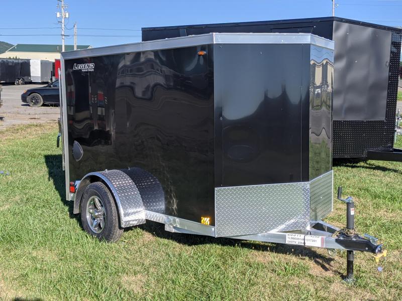2021 Legend Trailers 5X8 + v Enclosed Cargo Trailer