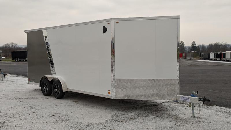 2021 Legend Trailers 7.5x18+4V Snowmobile Trailer