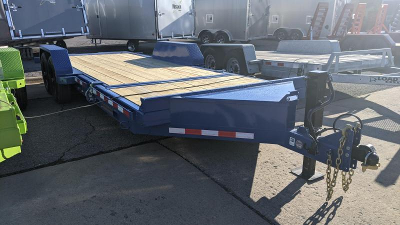 2021 Midsota 20' Skid loader Equipment Trailer