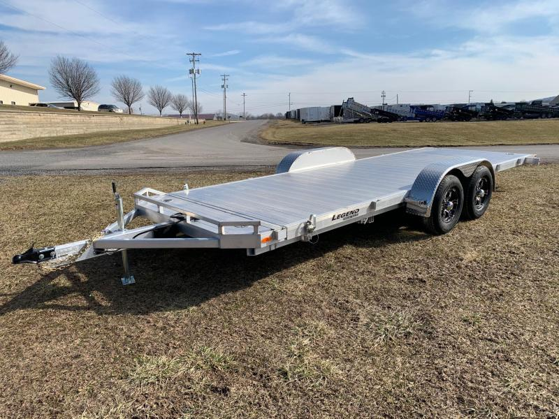 2020 Legend Manufacturing 7x22 10K Tilt Car / Racing Trailer