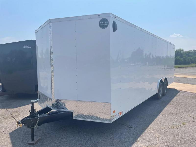 2022 Wells Cargo 8.5x24 10K Car Hauler Enclosed Cargo Trailer