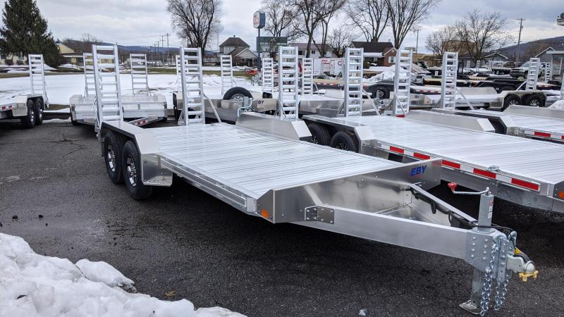 2021 EBY 18' 10K Low Profile Equipment Trailer