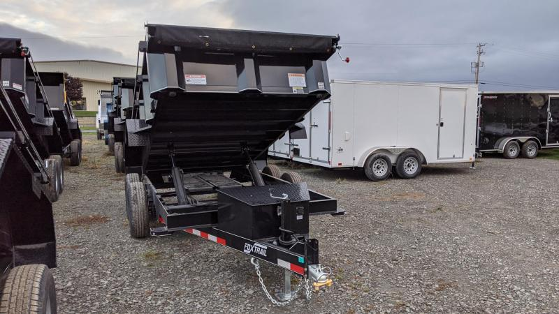 2021 Fox Trail 7x12 Dump Trailer