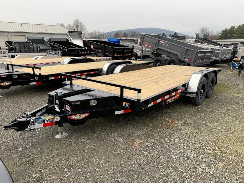 2020 H & H Trailers SpeedLoader EX Power Tilt 7x18 10K Car / Racing Trailer