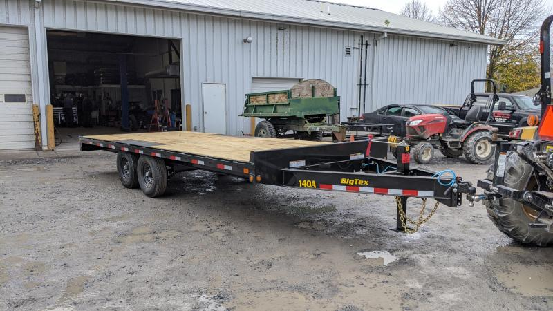 2021 Big Tex Trailers 20' 14K Deckover Flatbed Trailer